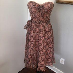 SHOSHANNA Silk Floral Dress